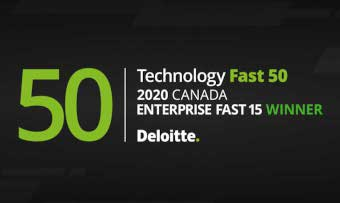 Canada Drives Deloitte Fast 50 winners designation